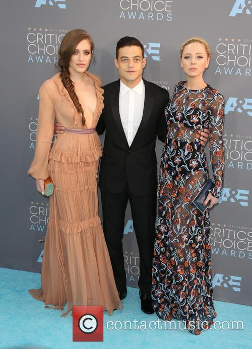 Carly Chaikin, Rami Malek and Portia Doubleday 8