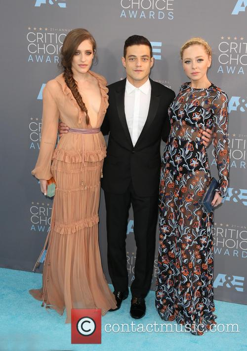Carly Chaikin, Rami Malek and Portia Doubleday 9