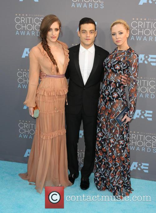 Carly Chaikin, Rami Malek and Portia Doubleday 10