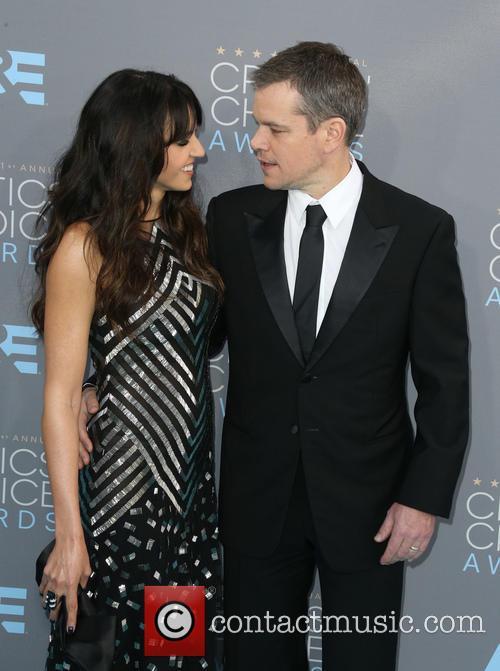 Matt Damon and Luciana Barroso 6