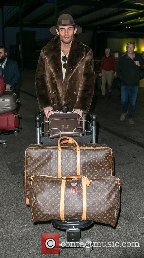 Celebrities at Gatwick Airport