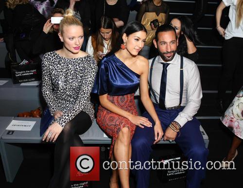Franziska Knuppe, Massimo Sinato and Rebecca Mir 1