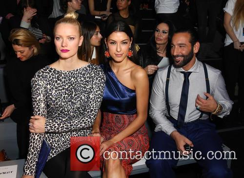 Franziska Knuppe, Massimo Sinato and Rebecca Mir 5
