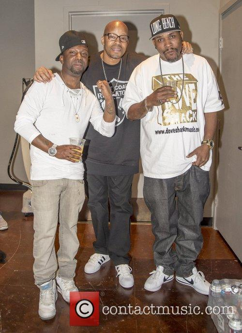 Warren G, Ras Kass and C Knight