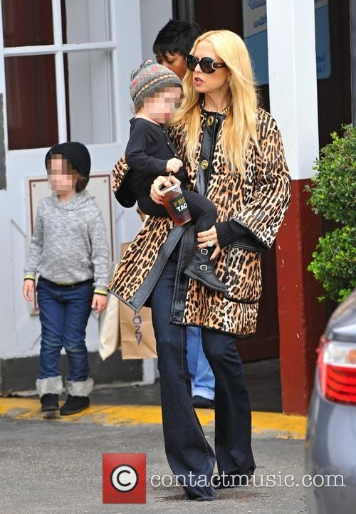 Rachel Zoe, Kaius Berman and Skyler Berman 1