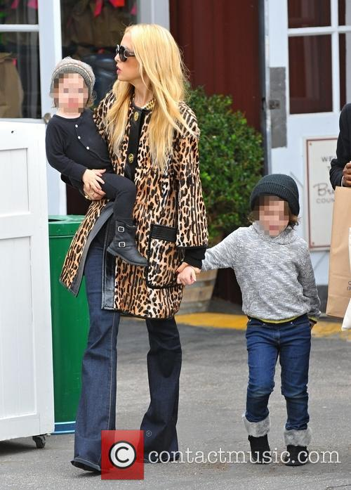 Rachel Zoe, Kaius Berman and Skyler Berman 5