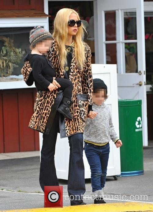 Rachel Zoe, Kaius Berman and Skyler Berman 7