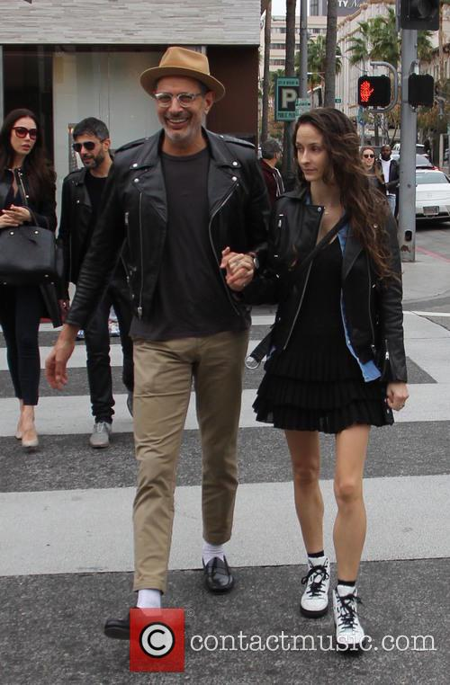 Jeff Goldblum and Emilie Livingston 2