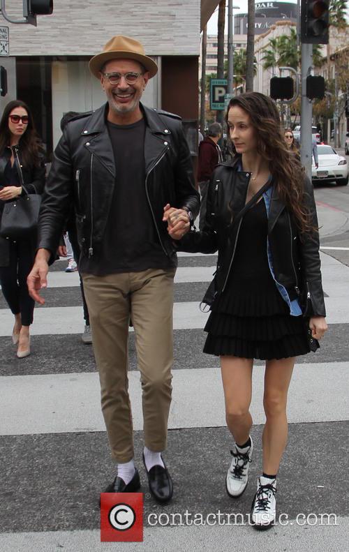 Jeff Goldblum and Emilie Livingston 4