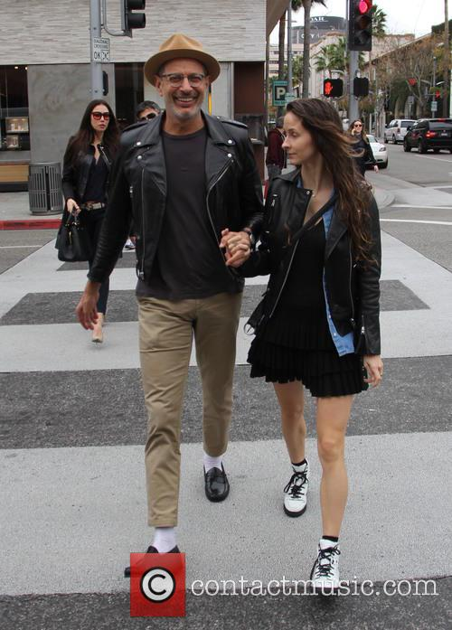 Jeff Goldblum and Emilie Livingston 8