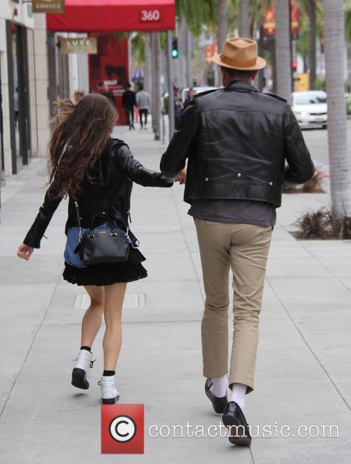 Jeff Goldblum and Emilie Livingston 10