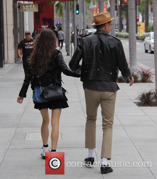 Jeff Goldblum and Emilie Livingston 11