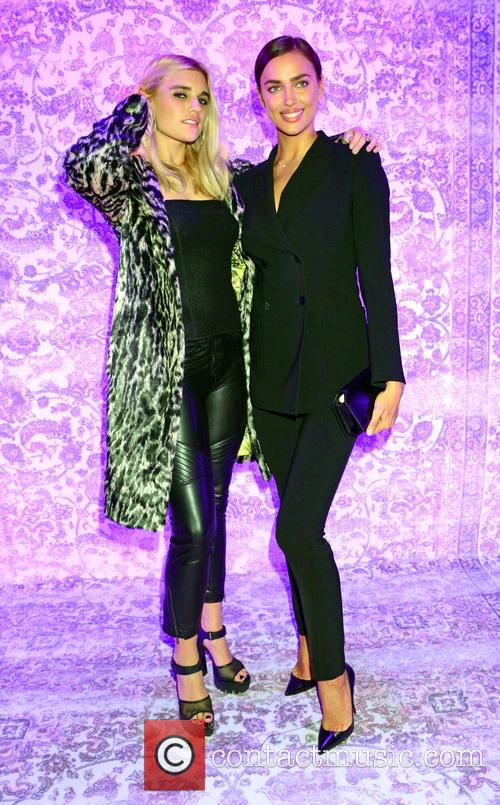 Tigerlily Taylor and Irina Shayk 3