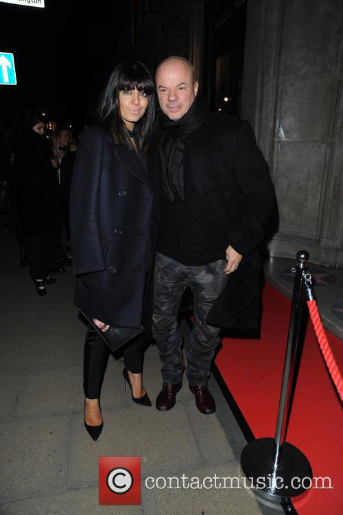 Claudia Winkleman and Russell Young 1