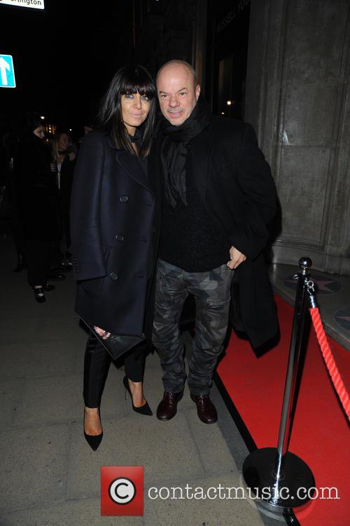 Claudia Winkleman and Russell Young 2