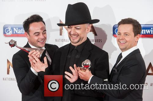 Anthony Mcpartlin, Declan Donnelly and Boy George 2
