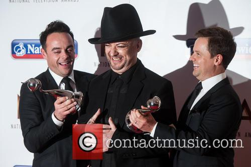 Anthony Mcpartlin, Declan Donnelly and Boy George 3