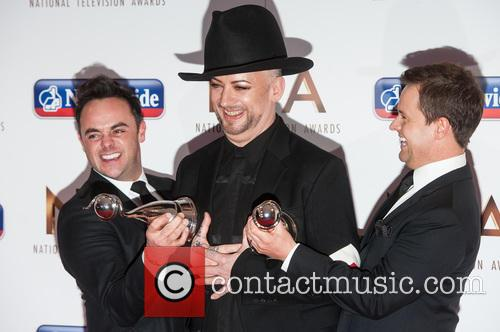Anthony Mcpartlin, Declan Donnelly and Boy George 4