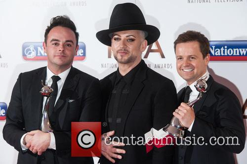 Anthony Mcpartlin, Declan Donnelly and Boy George 5
