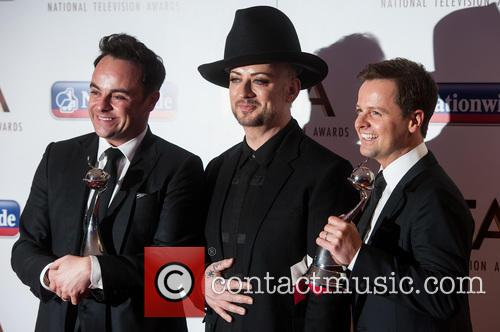 Anthony Mcpartlin, Declan Donnelly and Boy George 6