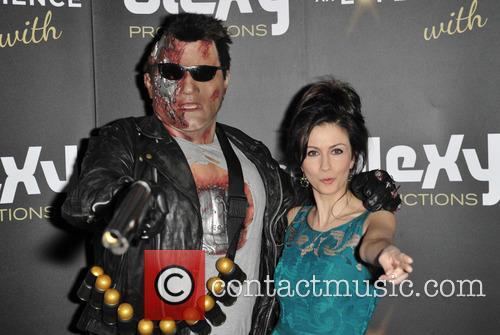 Terminator and Farah Bradford (tv Presenter) 2