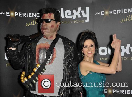 Terminator and Farah Bradford (tv Presenter) 3
