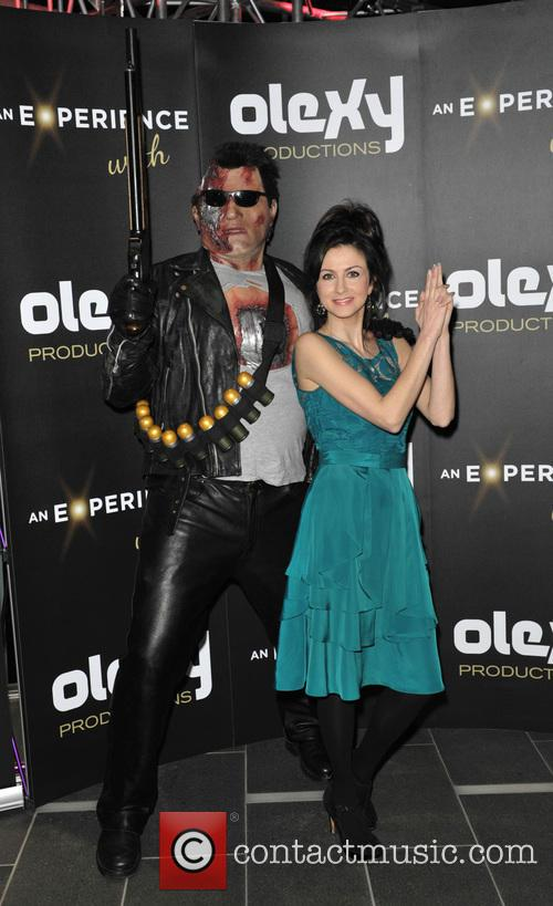 Terminator and Farah Bradford (tv Presenter) 4