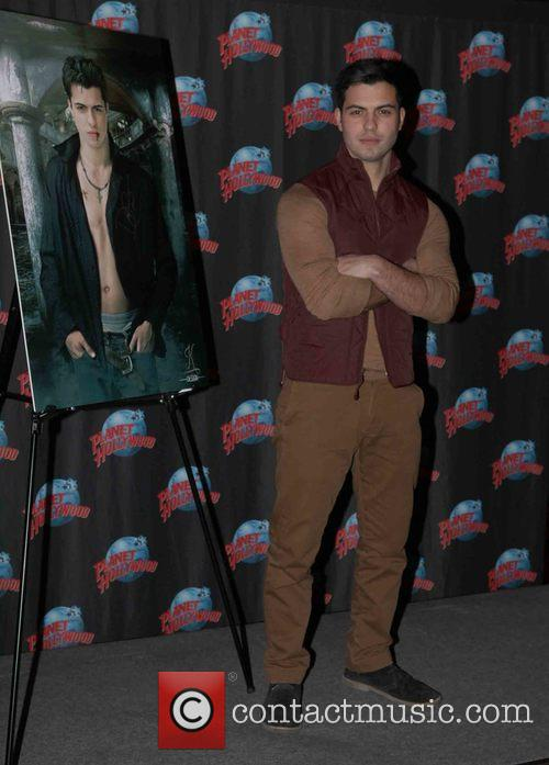 David Castro at Planet Hollywood