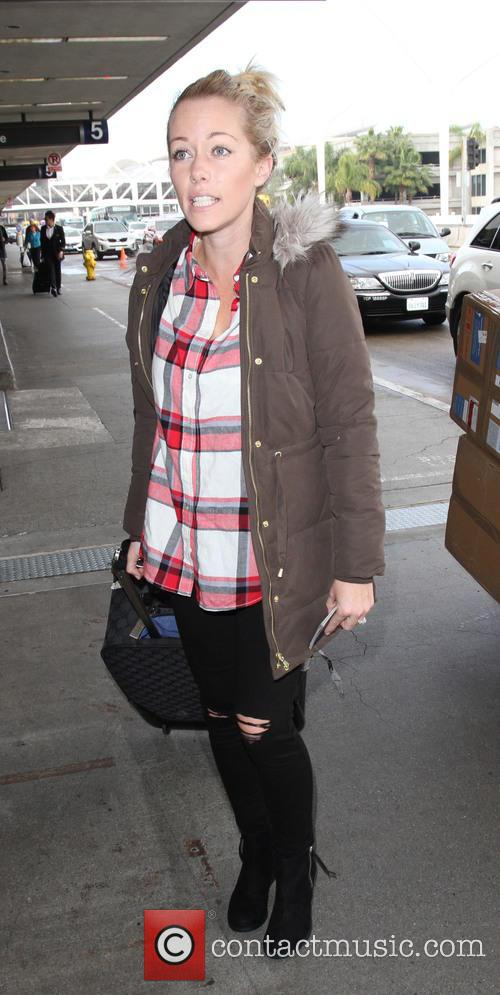 Kendra Wilkinson at LAX