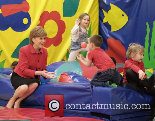 First Minister Nicola Sturgeon visits North Edinburgh Childcare