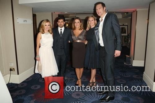 Katherine Jenkins, Natalie Pinkham and Zara Phillips 1