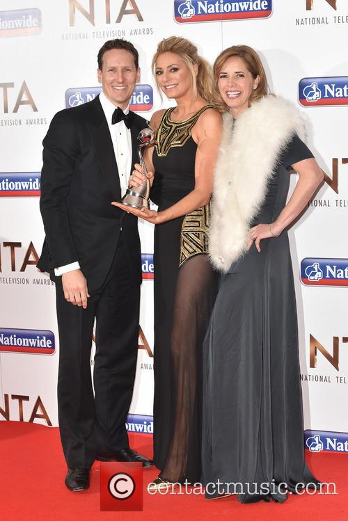 Tess Daly, Brendan Cole and Darcy Bussell 1