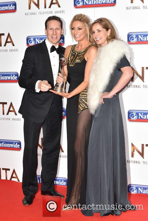 Tess Daly, Brendan Cole and Darcy Bussell 9