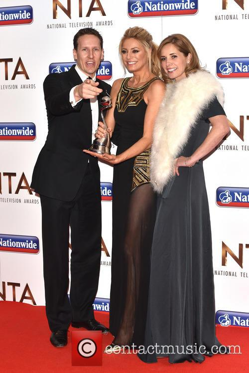 Tess Daly, Brendan Cole and Darcy Bussell 10