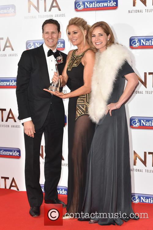 Tess Daly, Brendan Cole and Darcy Bussell 11