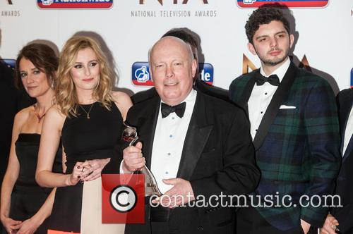 Laura Carmichael and Julian Fellowes 4