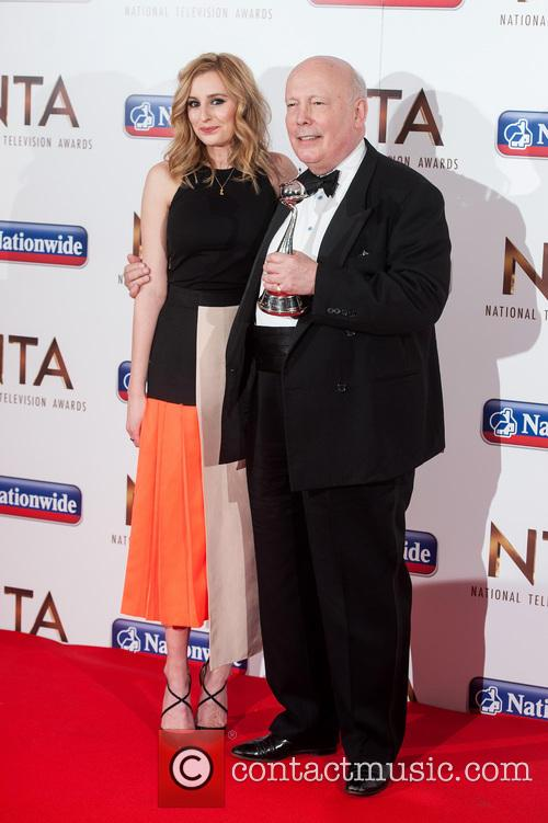 Laura Carmichael and Julian Fellowes 5