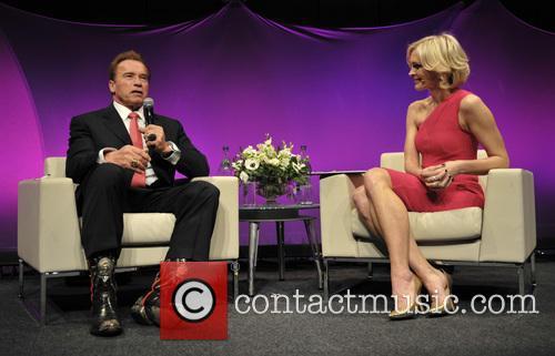 Arnold Schwarzenegger and Jenni Falconer 5