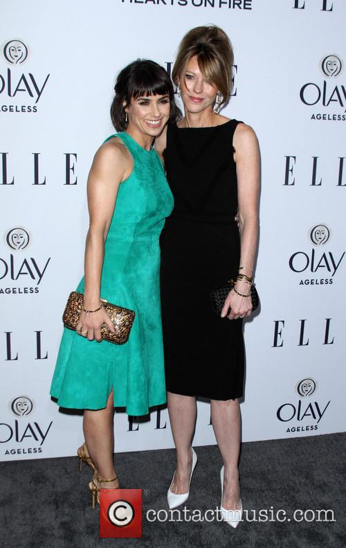 Constance Zimmer, Elle, Editor In Chief and Robbie Myers 10