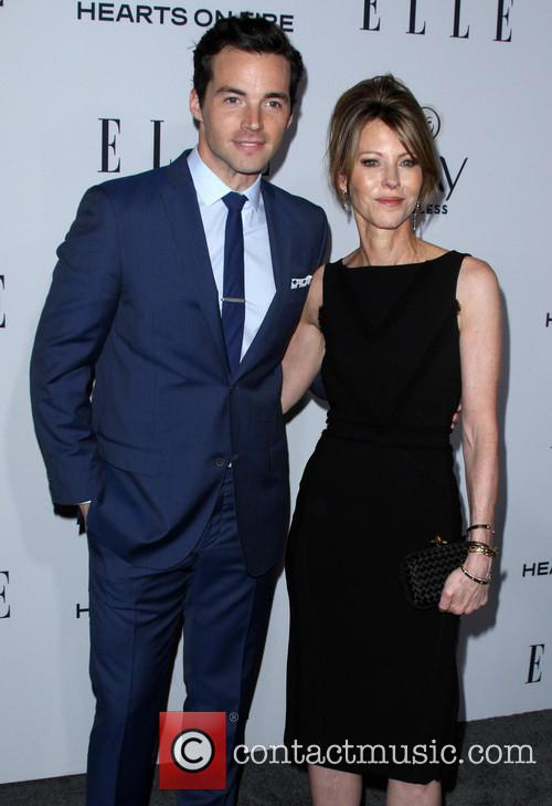 Ian Harding, Elle, Editor In Chief and Robbie Myers 1