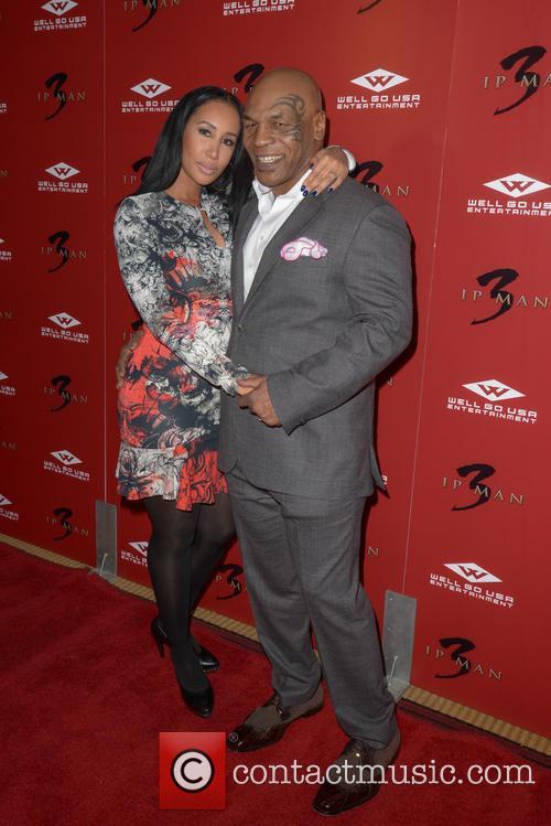 Lakiha Spicer and Mike Tyson 2