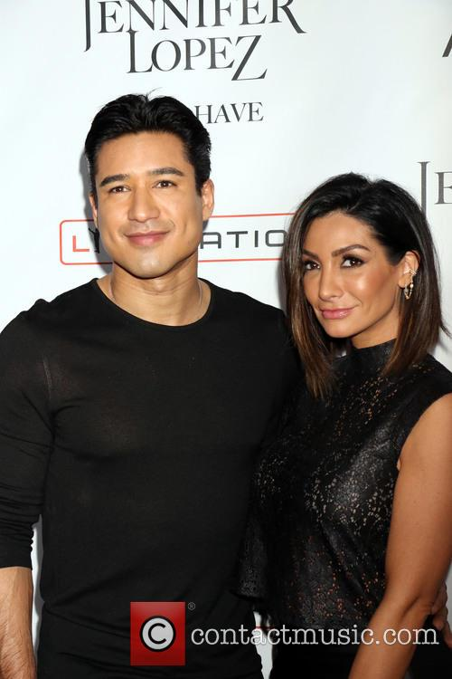 Mario Lopez and Courtney Lopez 6