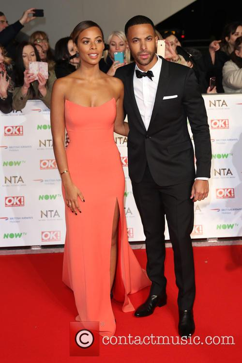 Rochelle Humes, Rochelle Wiseman and Marvin Humes 1