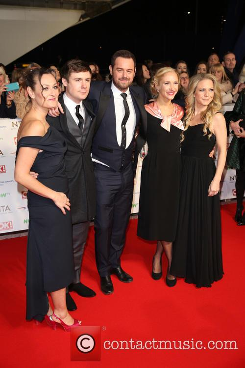 Luisa Bradshaw-white, Danny Dyer, Kellie Bright Maddie Hill and Danny-boy Hatchard