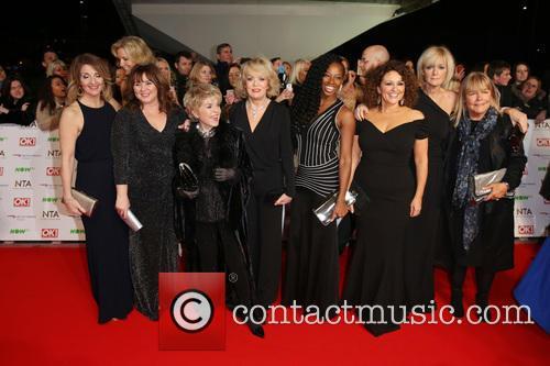 Nadia Sawalha, Kaye Adams, Jane Moore, Gloria Hunniford, Andrea Mclean, Penny Lancaster, Sherrie Hewson, Jamelia and Coleen Nolan
