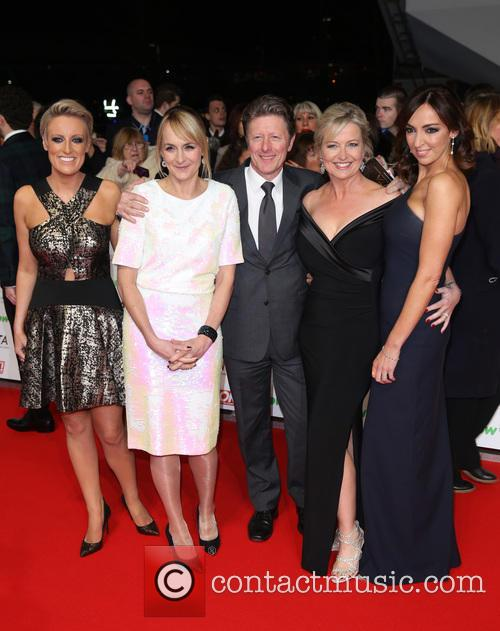 Stephanie Mcgovern, Charlie Stayt, Sally Nugent, Louise Minchin and Carol Kirkwood 1