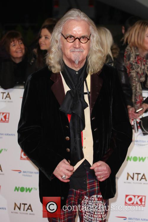 Billy Connolly at the National TV Awards