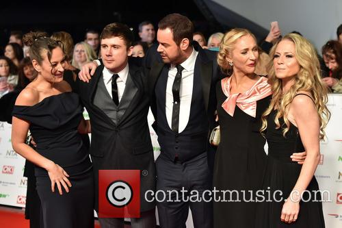 Luisa Bradshaw-white, Danny Dyer, Kellie Bright, Danny-boy Hatchard and Maddy Hill 2
