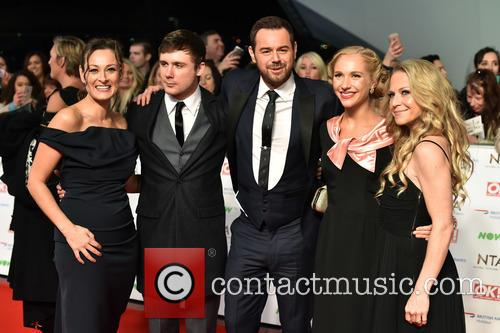 Luisa Bradshaw-white, Danny Dyer, Kellie Bright, Danny-boy Hatchard and Maddy Hill 3