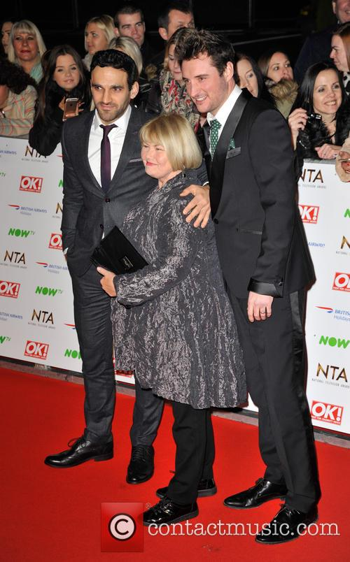 James Bye, Davood Ghadami and Annette Badland